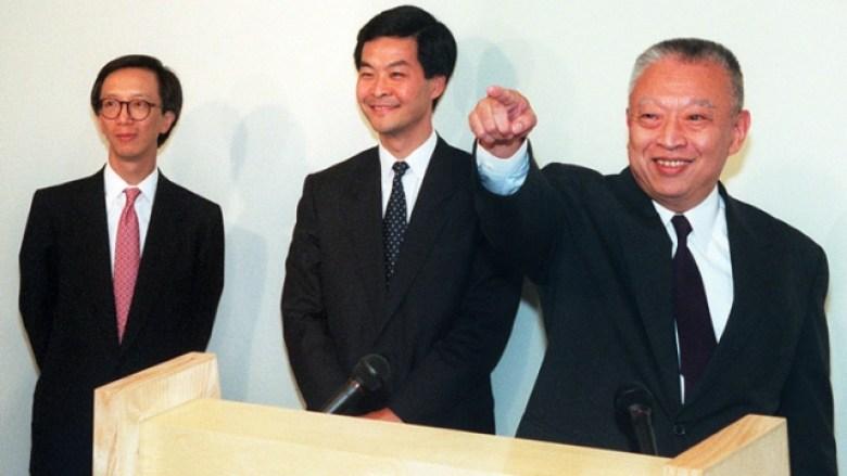 Antony Leung Leung Chun-ying Tung Chee-hwa