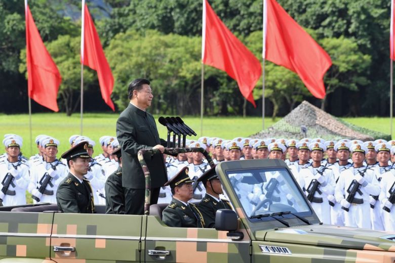Xi Jinping People's Liberation Army