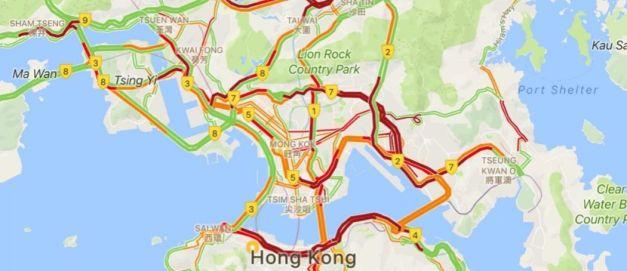 typhoon traffic jam