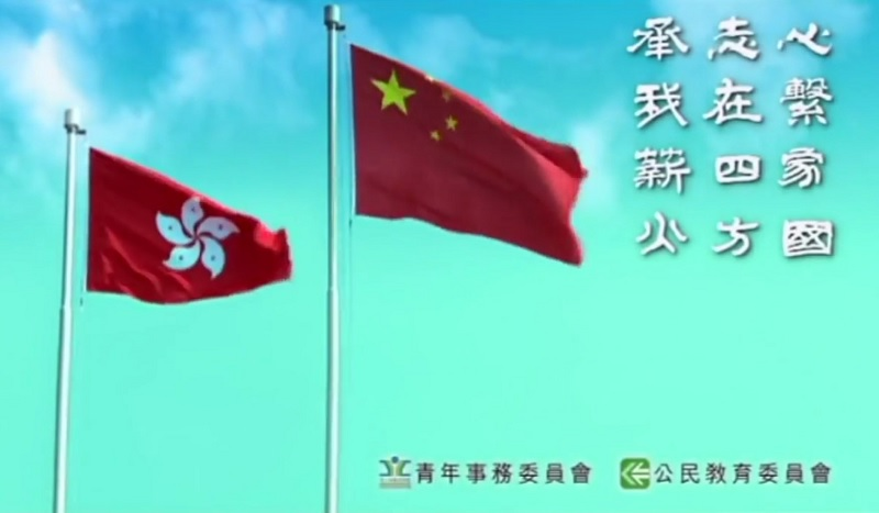 Chinese national anthem March of the Volunteers