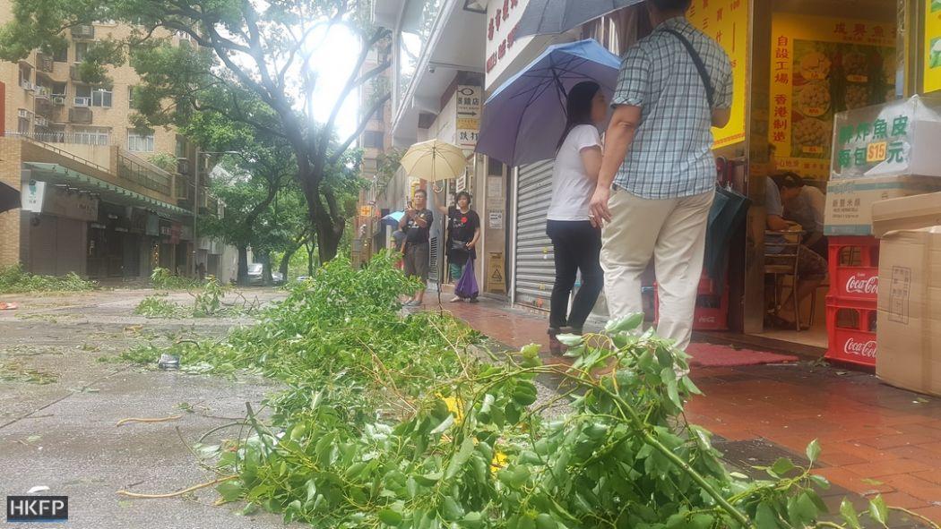 typhoon storm hato tsim sha tsui