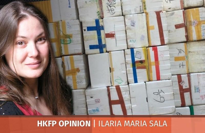 Ilaria Maria Sala rubbish