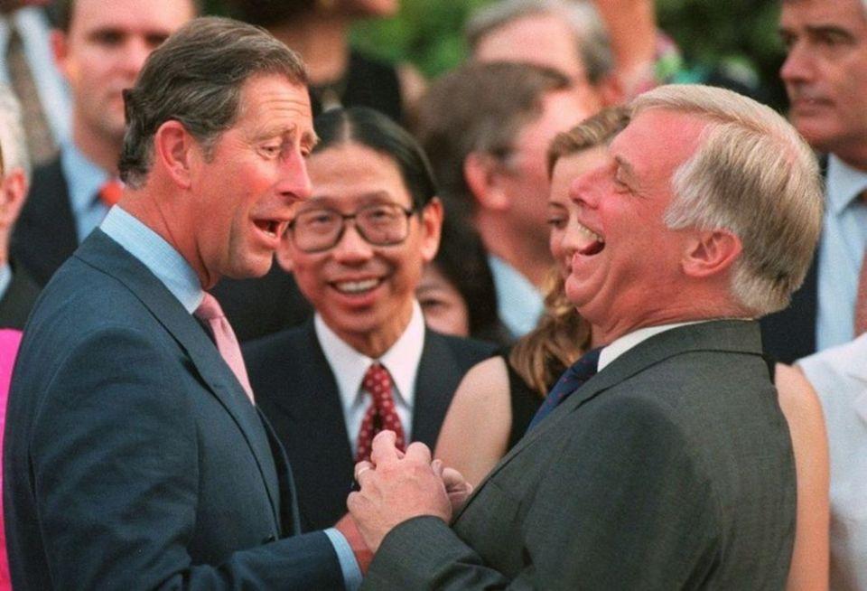 Prince Charles chris patten