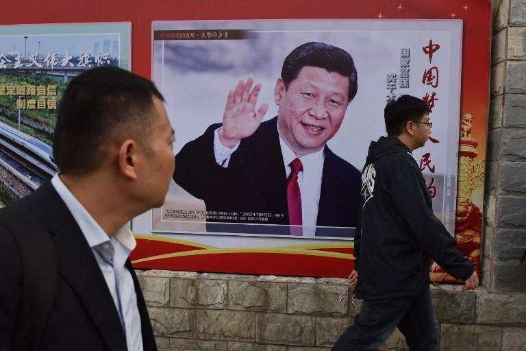 xi jinping poster china dream