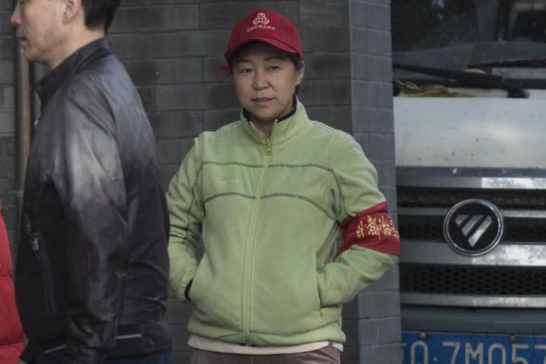 A volunteer for security procedure