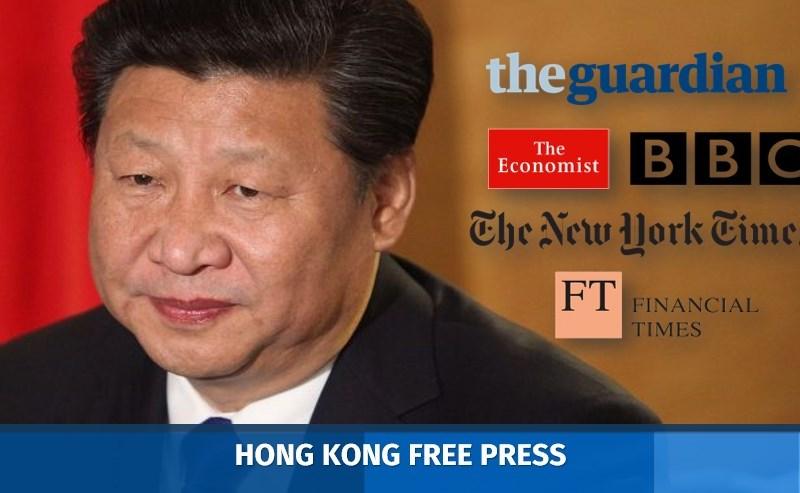 xi jinping censorship press freedom