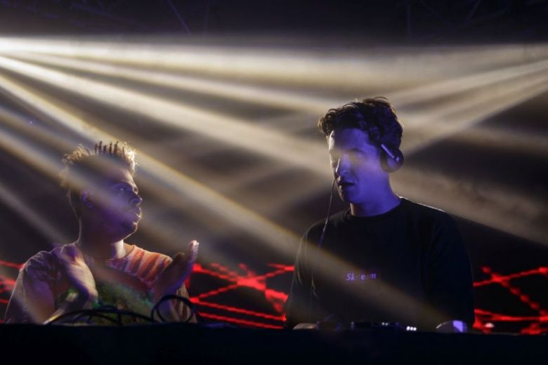 Skream at the Your Mum Stage by Red Bull