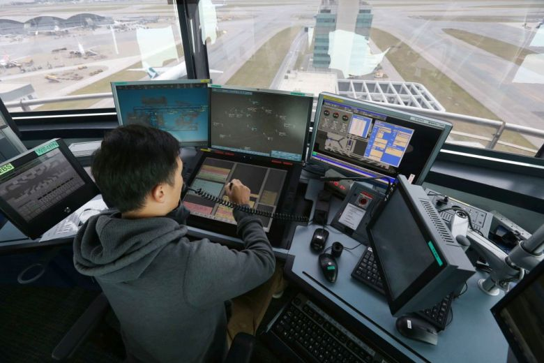new air traffic management system