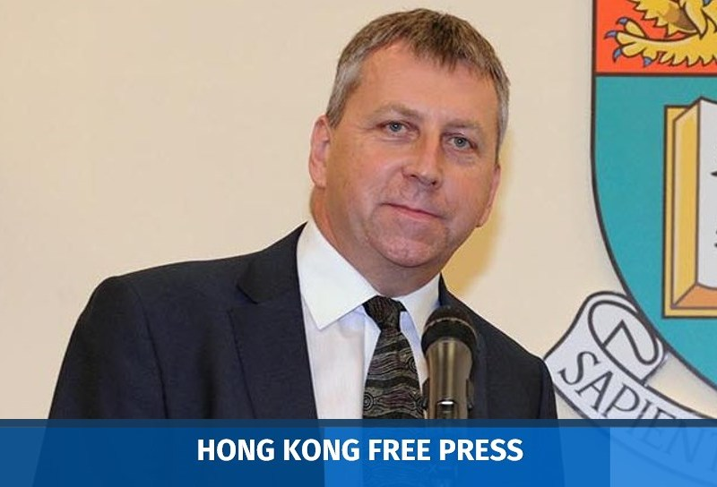 HKU PresidentPeter Mathieson