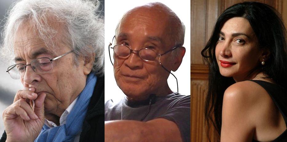 Adonis, Shuntaro Tanikawa and Maram Al-Masri