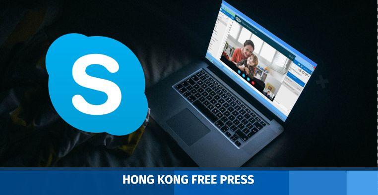 skype banned censored china