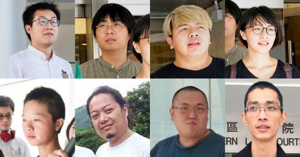eight activists