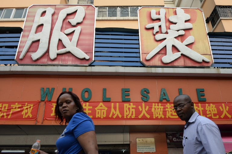 africans Guangzhou