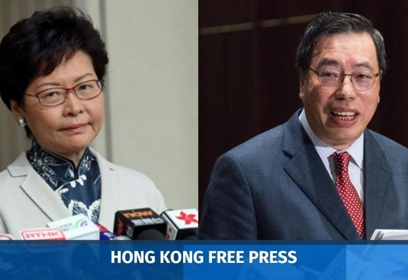 Carrie Lam Andrew Leung