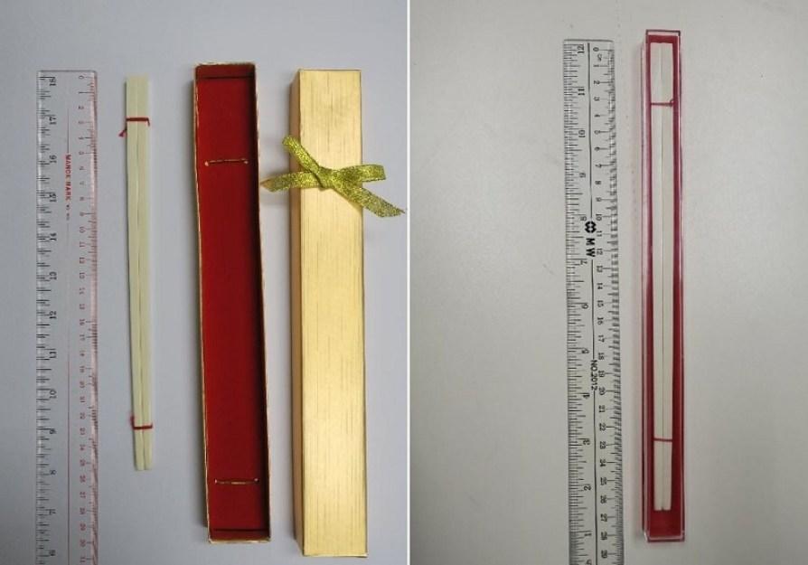 Ivory chopsticks