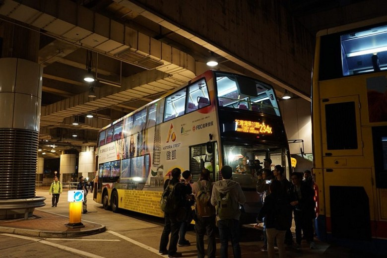 KMB bus driver strike