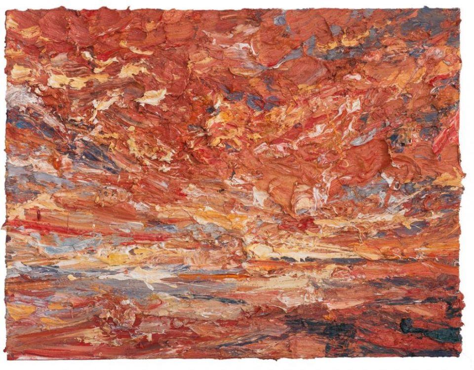 Lv Shanchuan 呂山川, Sea No.4 海NO.4, 140x180cm, Oil on canvas 布面油画, 2017.