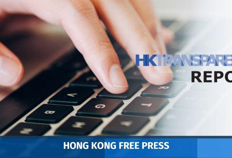 Hong Kong Transparency Report