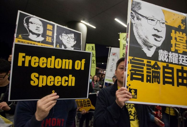 freedom protest rally benny tai free speech