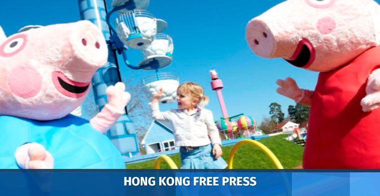 peppa the pig china crackdown