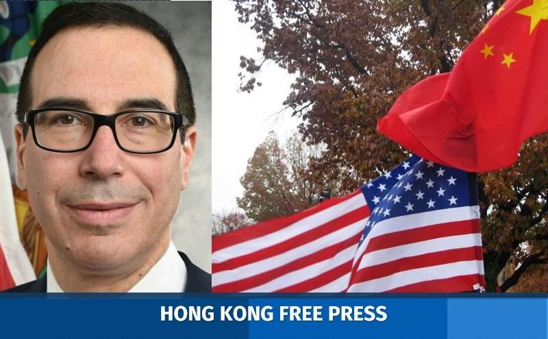 Steven Mnuchin trade war usa china
