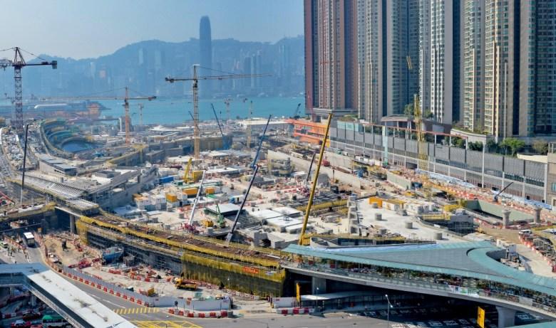 West Kowloon Terminus Express Rail Link