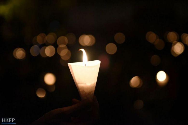 tiananmen massacre vigil 2018 hong kong