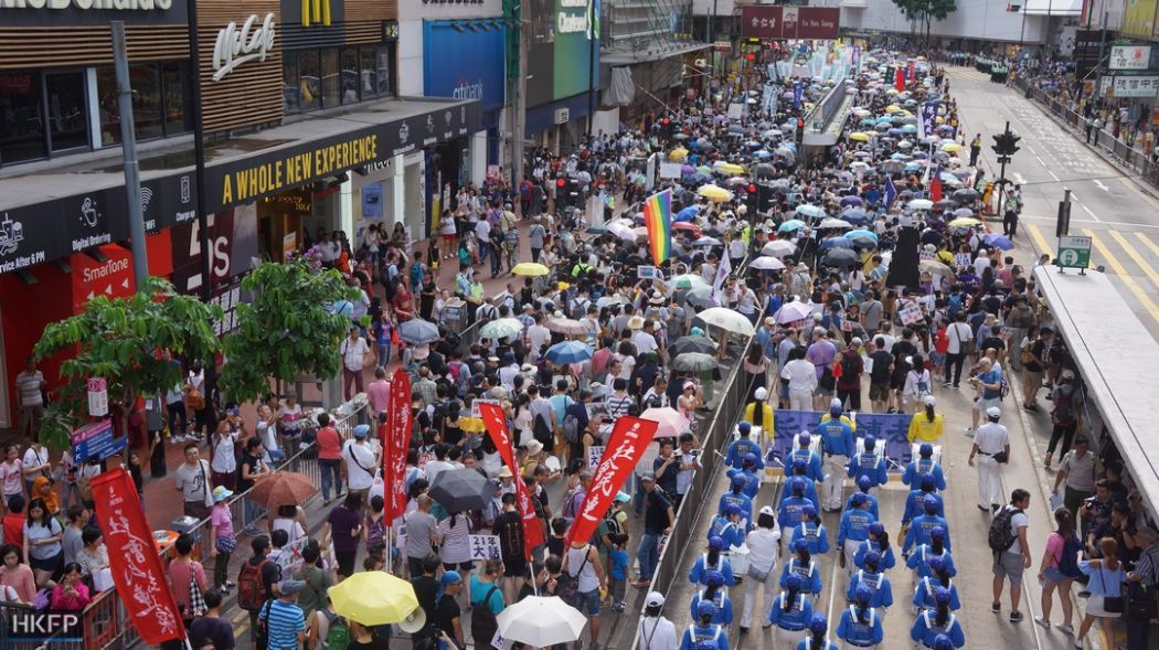 july 1 democracy rally protest march 2018