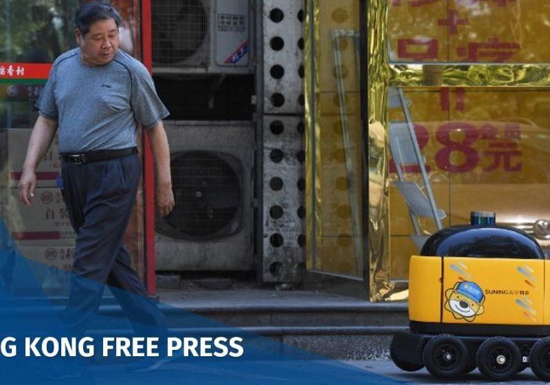 China Zhen Robotics food delivery