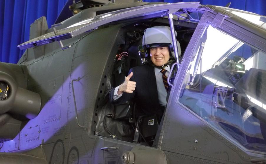 AH-64E gunship