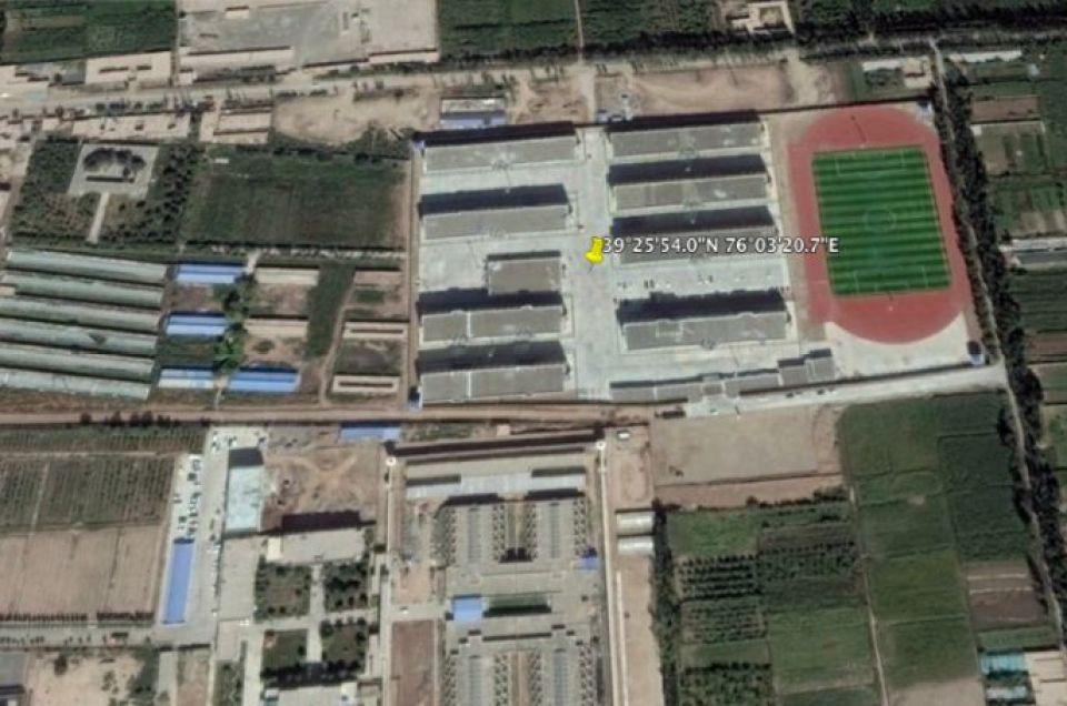 "Xinjiang ""Re-education Camp"" No.3,"