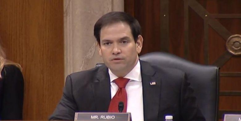 Marco Rubio US congressional hearing Xinjiang
