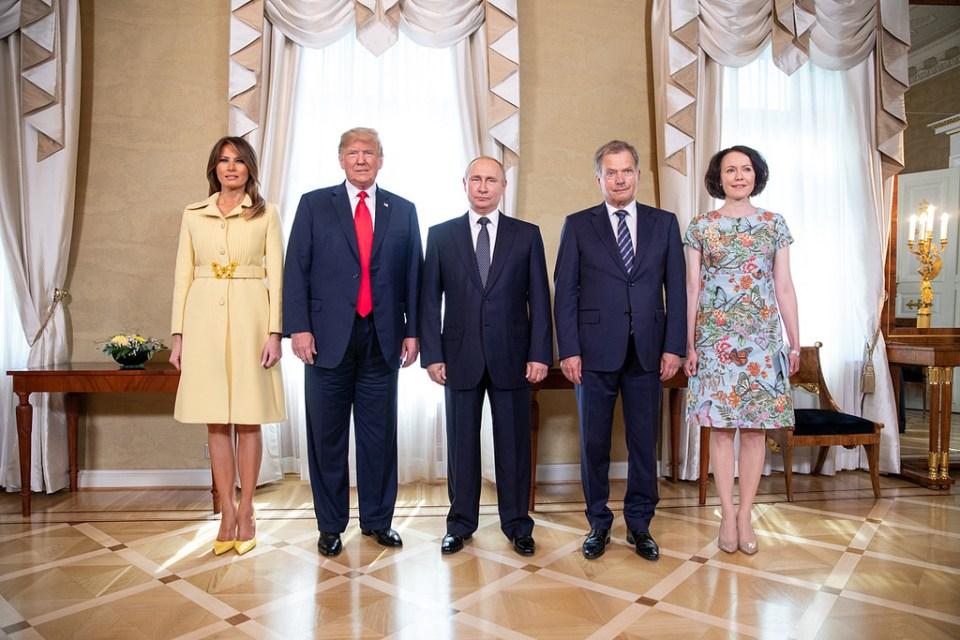 Putin Trump Melania