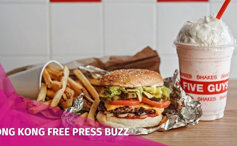 five guys burgers hong kong opening