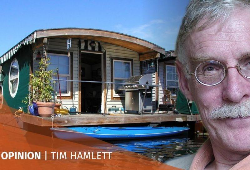 Tim Hamlett floating homes