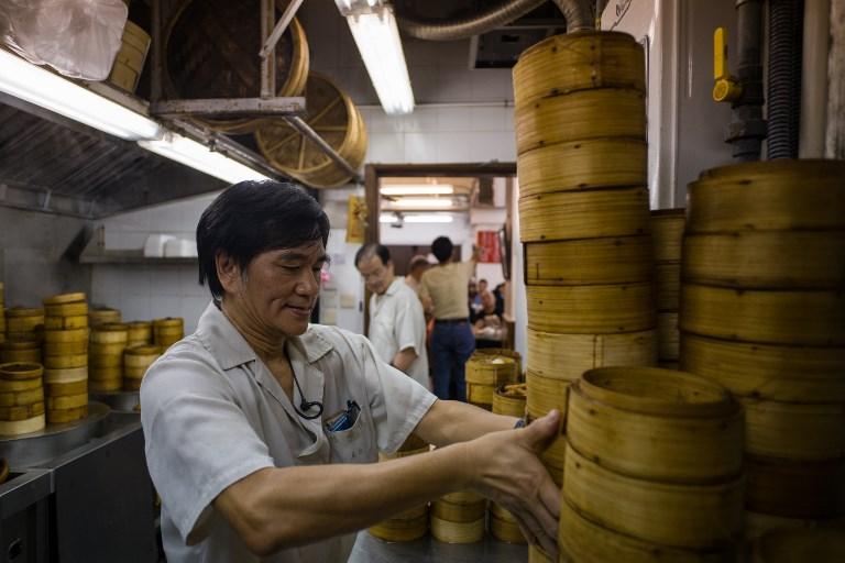 Lin Heung Tea House Hong Kong dimsum