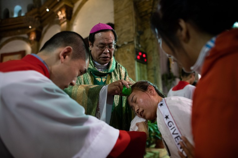china vatican