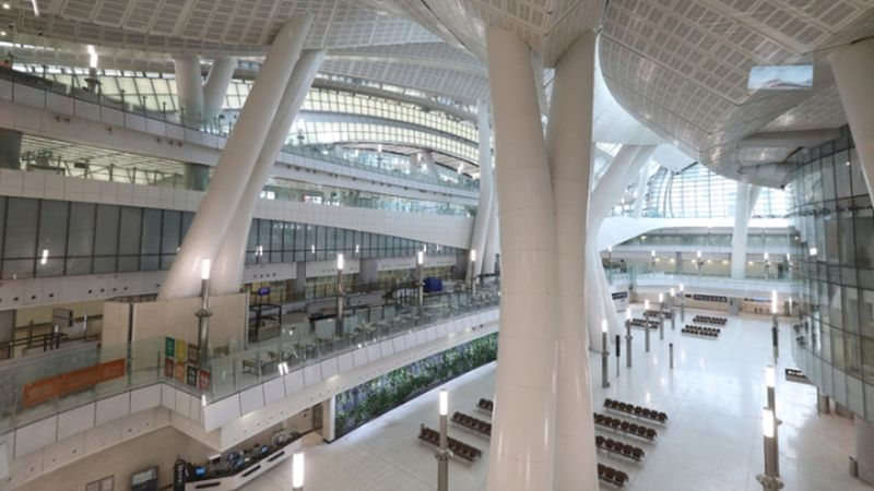 West Kowloon terminus Guangzhou-Shenzhen-Hong Kong Express Rail Link