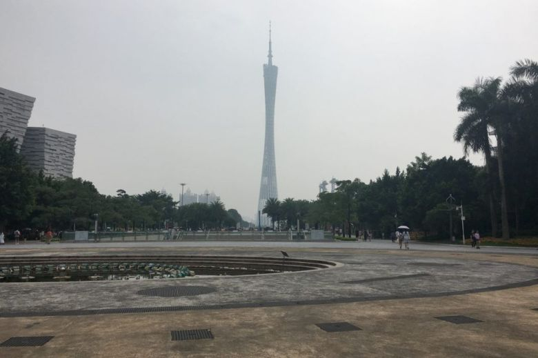 Canton Tower central Guangzhou