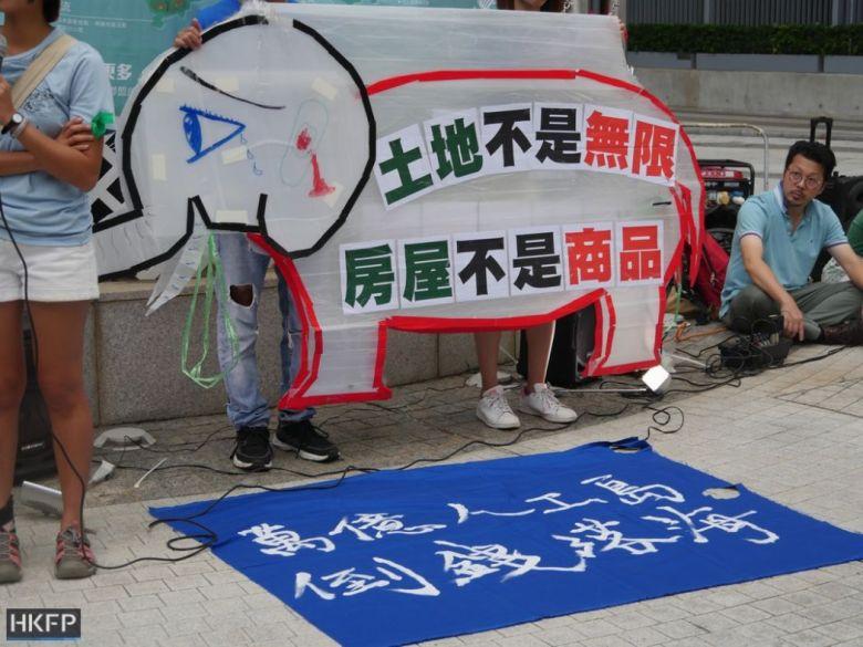 lantau reclamation protest