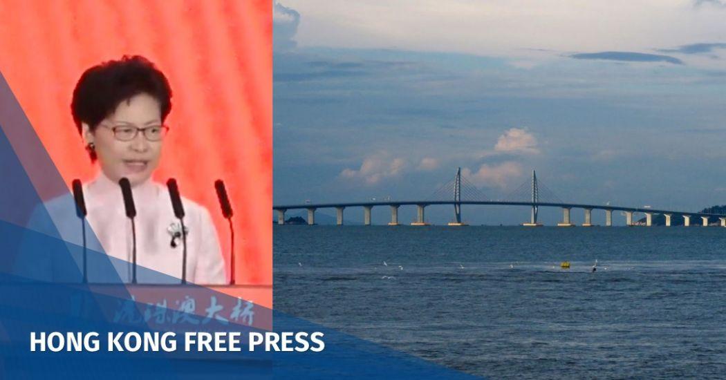 Carrie Lam Hong Kong-Zhuhai-Macao Bridge