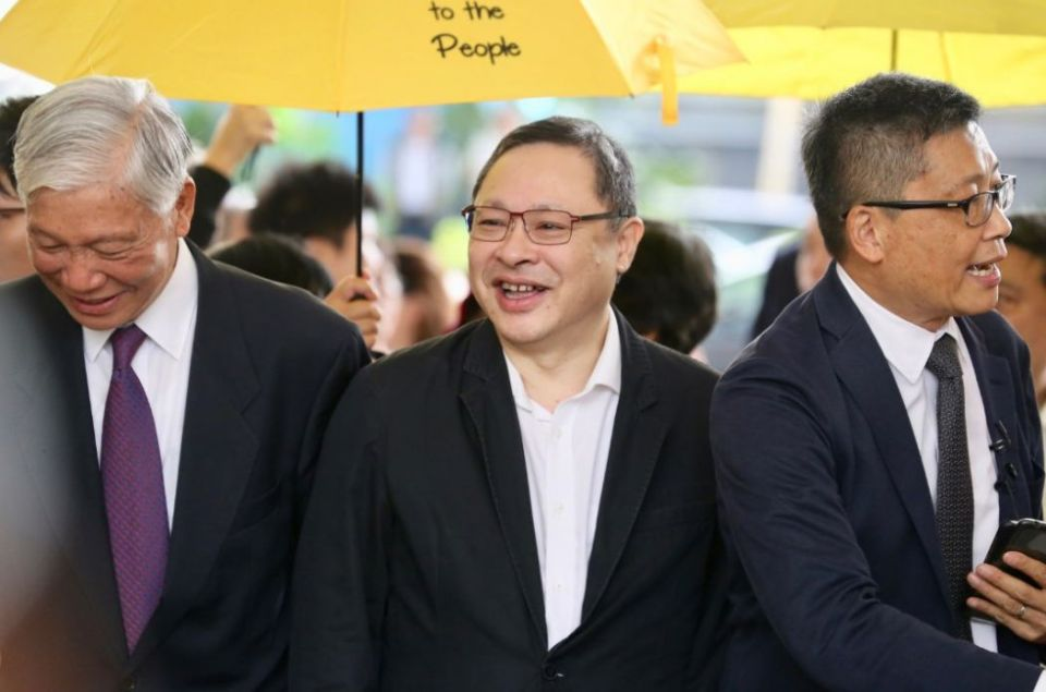 umbrella movement occupy trial