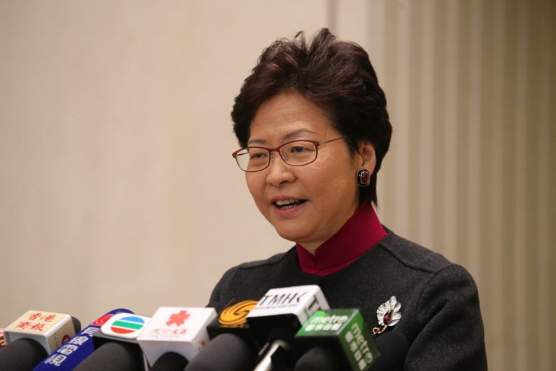 Chief Executive Carrie Lam