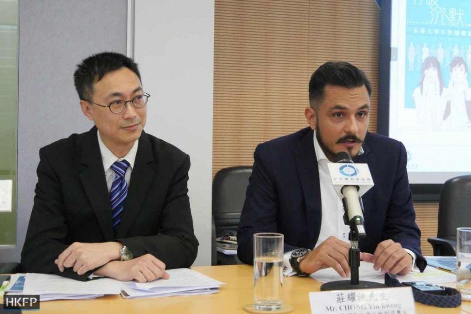 Chong Yiu-kong and Dr. Rizwan Ullah