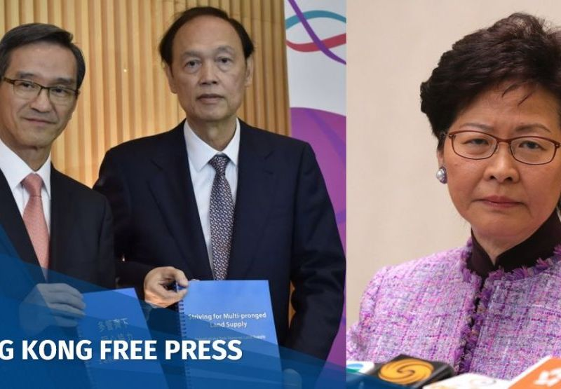 Carrie Lam Task Force on Land Supply Stanley Wong Greg Wong