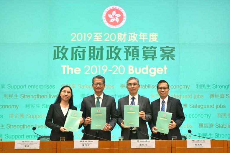 Gov press conference budget 2019