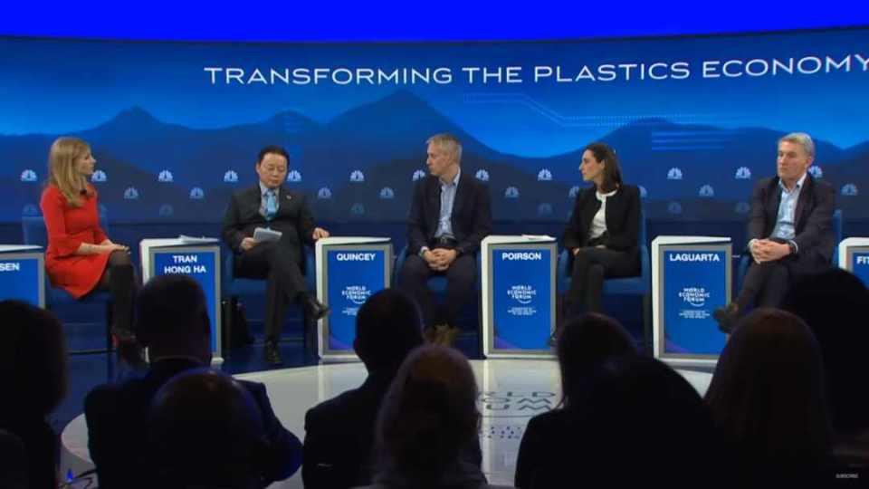 world economic forum plastics