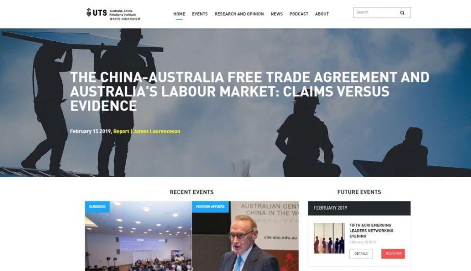 Australian-China Relations Institute