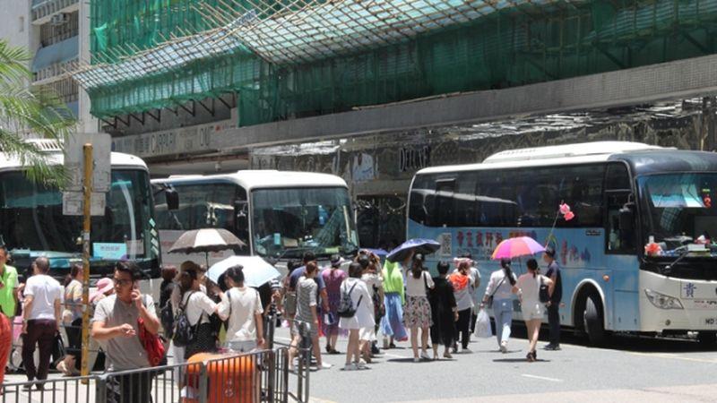 Tour buses Hung Hom