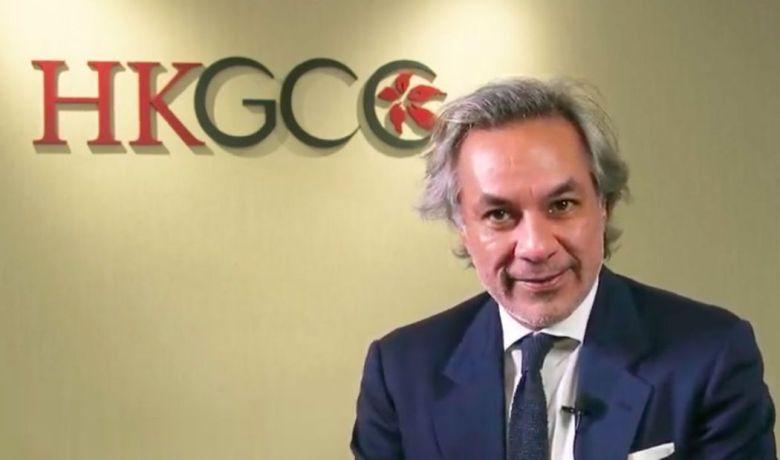 HKGCC Chairman Aron Harilela